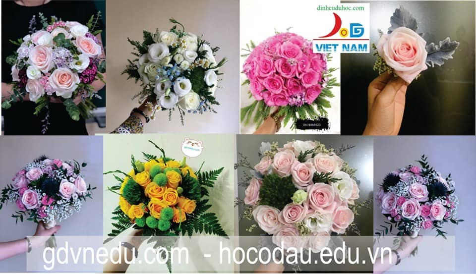 Dạy cắm hoa nghệ thuật mở shop tại Hải Phòng